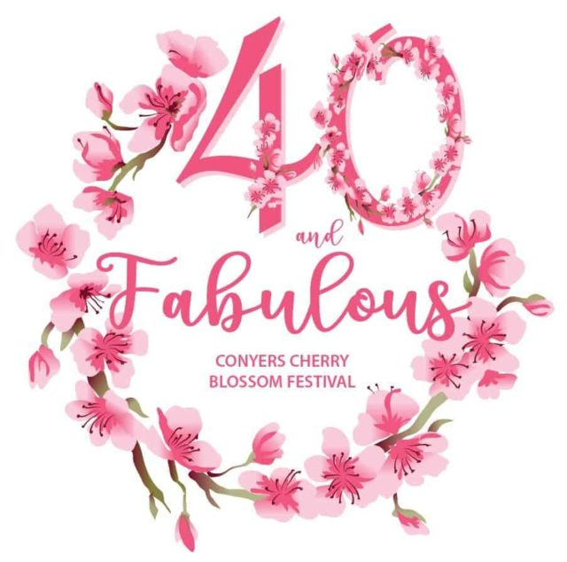 40 and Fabulous Cherry Blossom