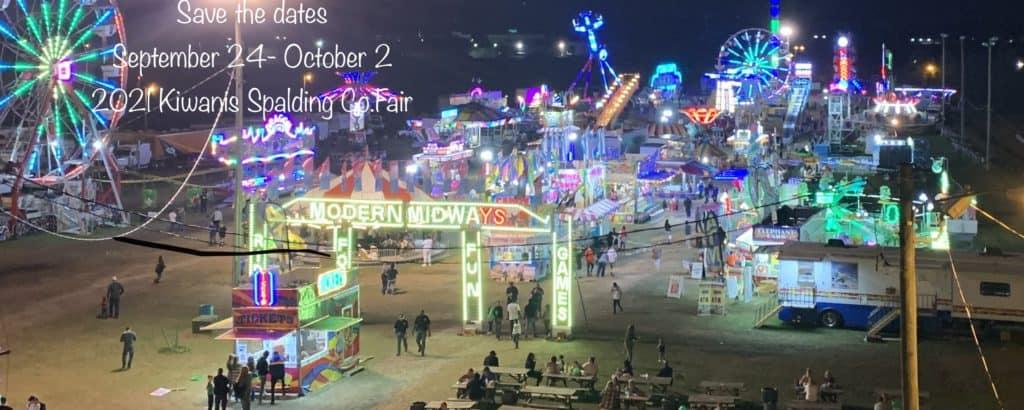 spalding county fair